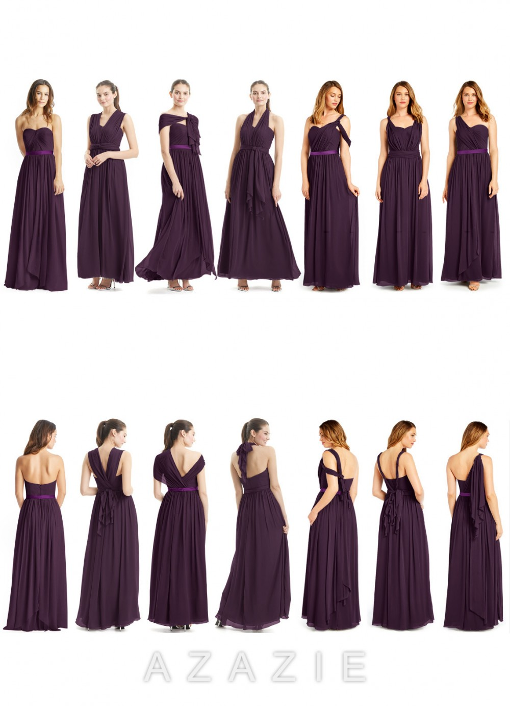 Azazie Stella convertible dress