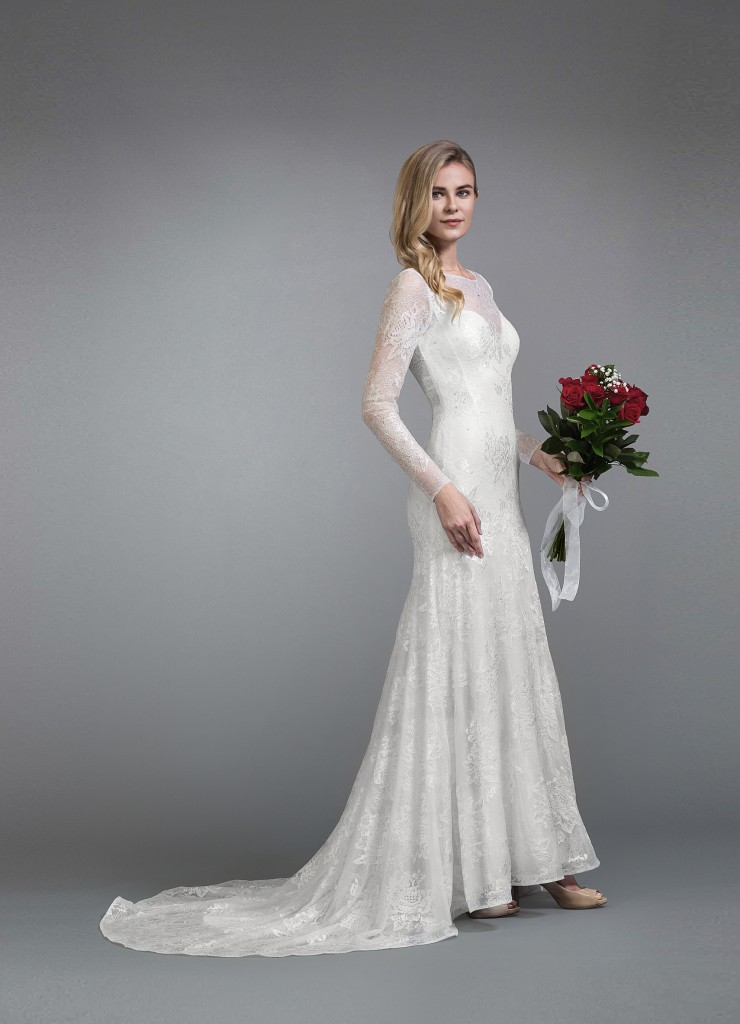Azazie Ember Bridal Gown Vintage Style