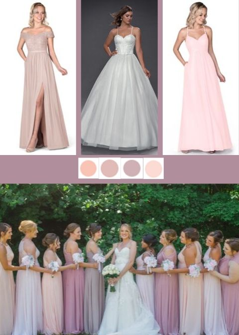 Dusty Rose mix and match