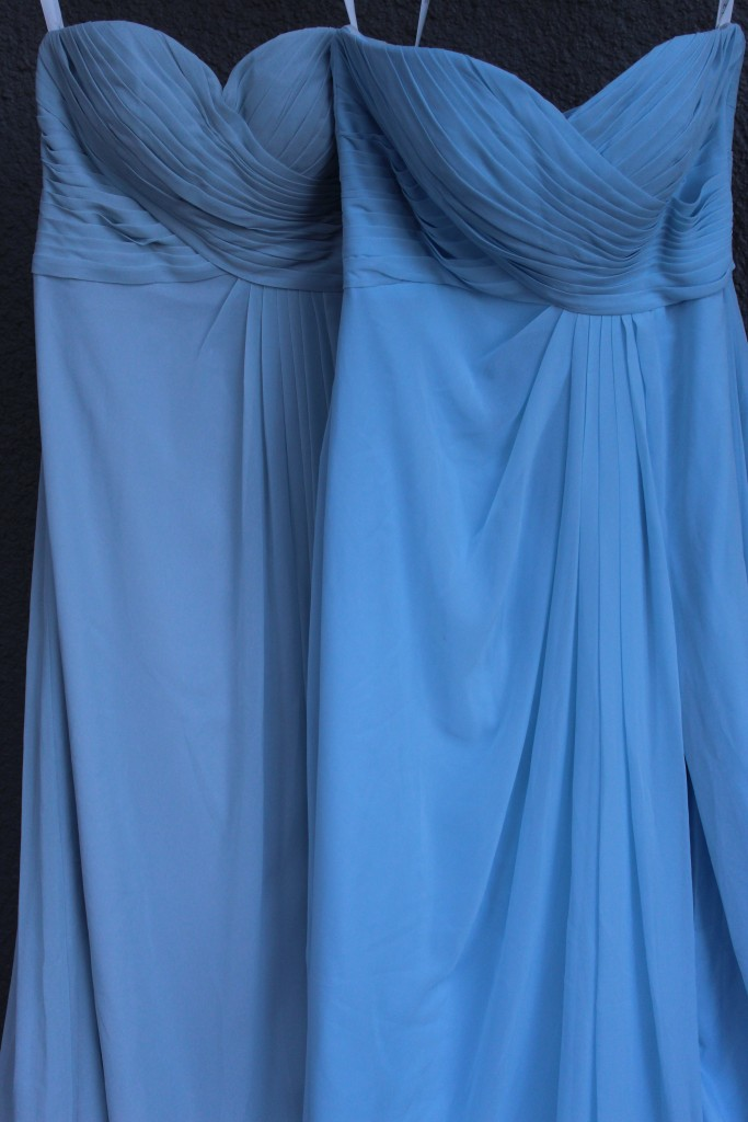 sky blue, mist, Bridesmaid dresses, Azazie