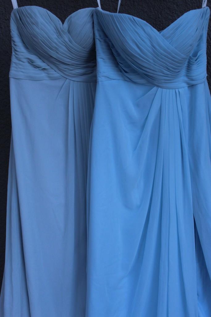 sky blue, mist, Bridesmaid dresses, Azazie