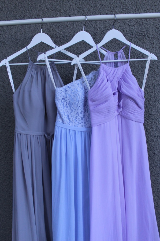 Fog Lavender Lilac Bridesmaid dresses, Azazie
