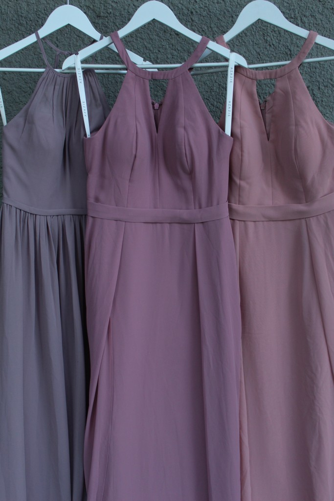 Dusty Rose, Vintage Mauve, Dusk, Bridesmaid dresses, Azazie