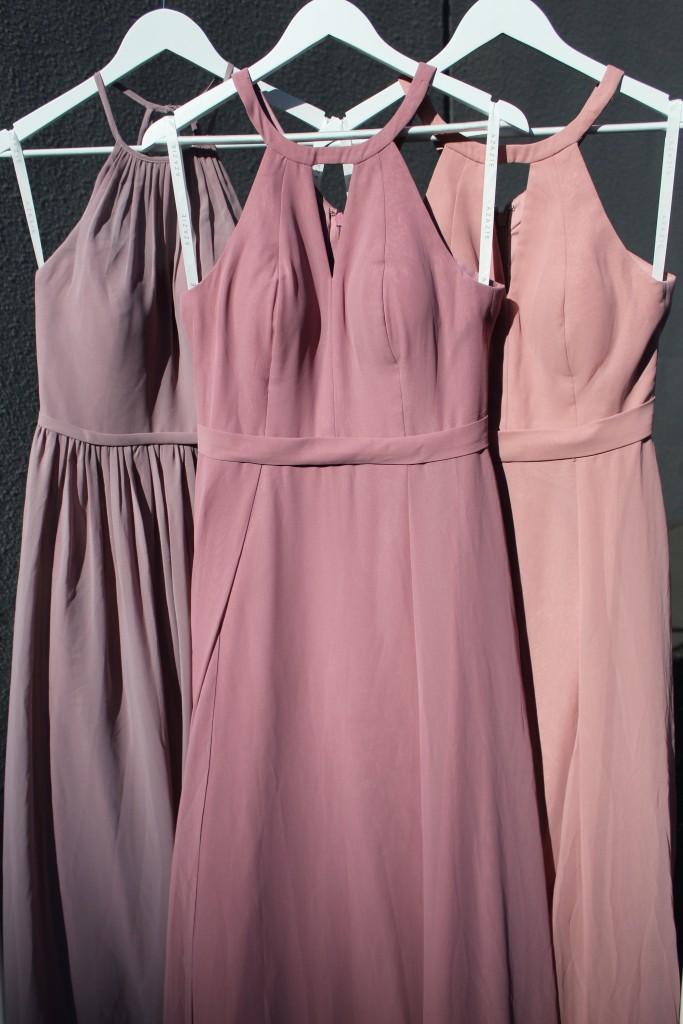 Dusty Rose, Vintage Mauve, Dusk, Bridesmaid dresses, Azazie