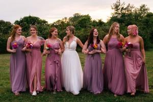@twokphoto, dusty rose, vintage mauve, dusk, Bridesmaid dresses, Azazie