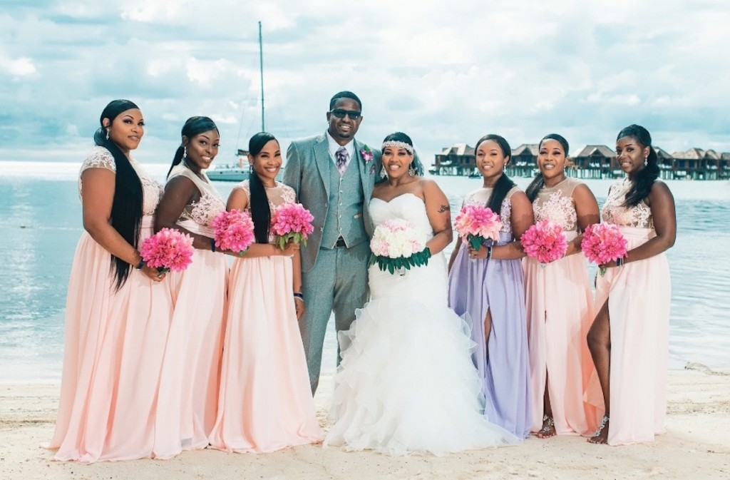 Montego Bay (pink and purple)