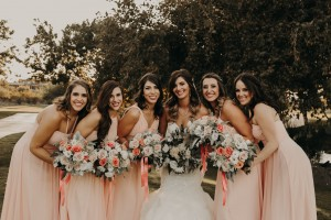 @thelightandthelove, pearl pink, Bridesmaid dresses, Azazie
