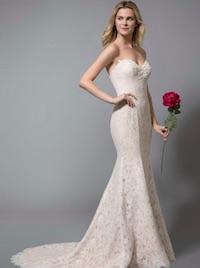 Designer looks for less, bridal gown, wedding dress, Azazie