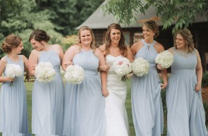 Brandi Sisson Photography, mist Bridesmaid dresses, Azazie