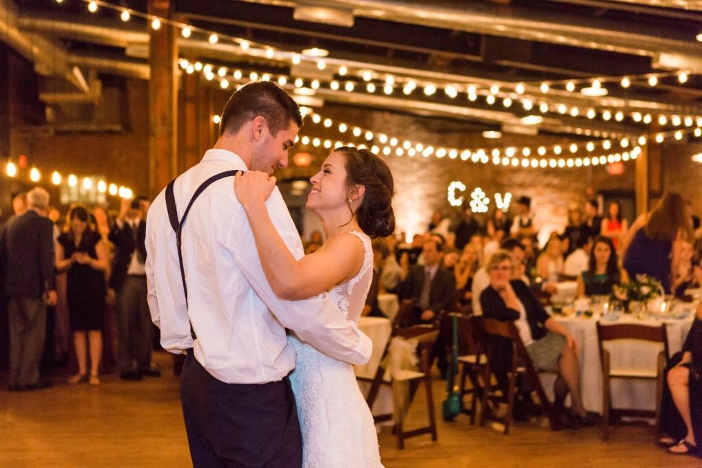 wedding dress, Azazie, dancing, wedding dance, bride and groom, first dance