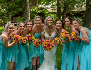 Brett Paul Photography, caribbean, Bridesmaid dresses, Azazie