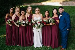 OneNine Images, Cabernet Bridesmaid Dresses, Azazie