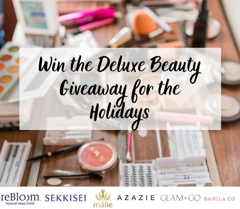 Deluxe Beauty Giveaway (2)