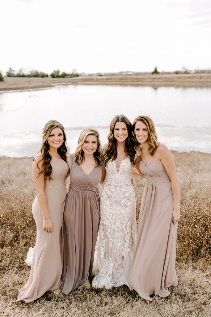 neutral, taupe, neutral bridesmaid dress, champagne, azazie, bridesmaid dress, azazie dress, neutral color palette, Taupe and Hazelnut