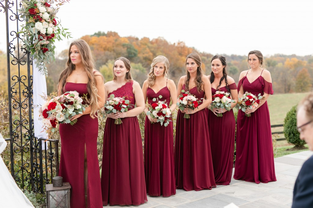 Real Azazie Wedding, bridesmaids dresses, burgundy dresses, cabernet dresses, affordable bridesmaid dresses, customizable bridesmaid dresses, wedding, wedding dresses