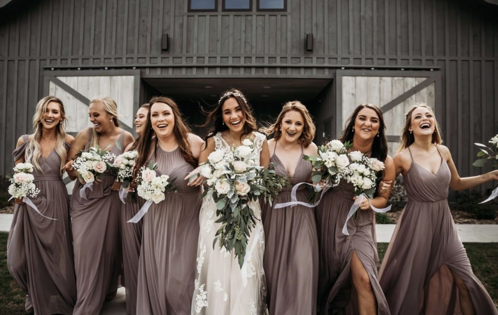 neutral, taupe, neutral bridesmaid dress, champagne, azazie, bridesmaid dress, azazie dress, neutral color palette, Hazelnut
