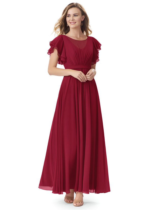 Azazie Daphne, bridesmaids dresses, special occasion dresses, burgundy dress, affordable dresses, red carpet styles, celebrity looks