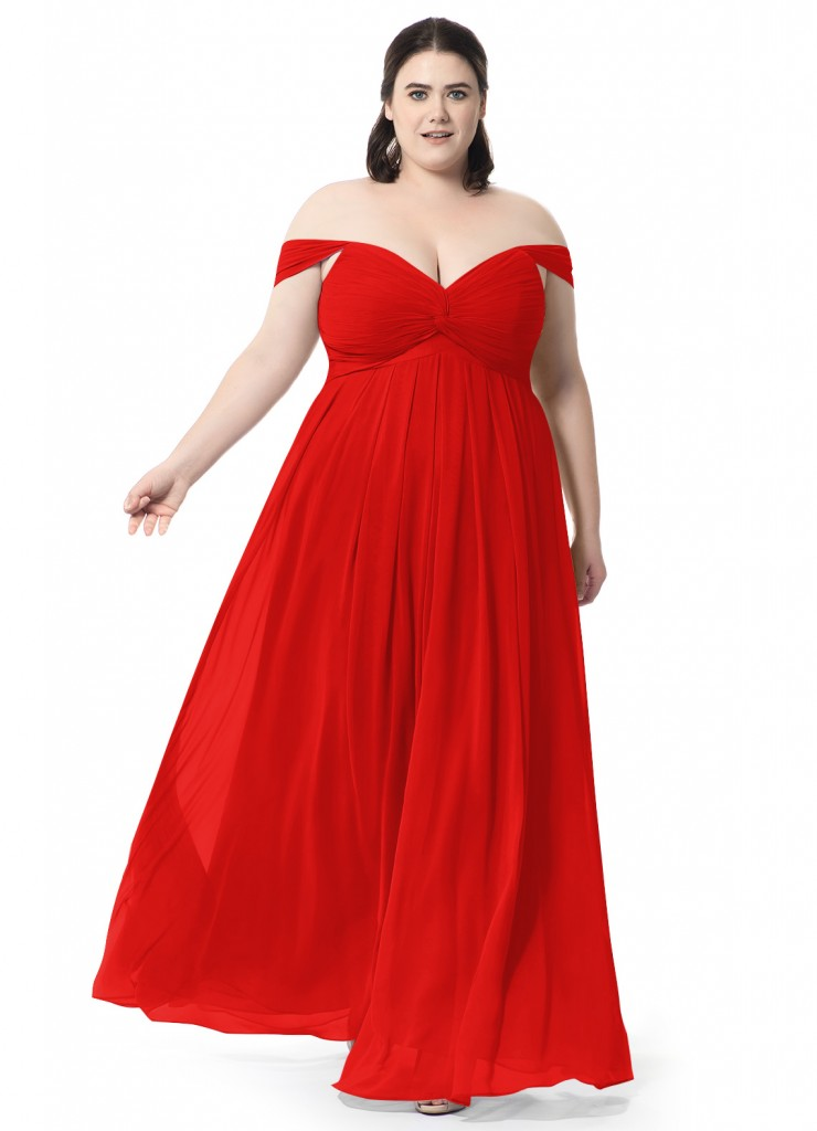 Azazie Kaitlynn, bridesmaids dresses, special occasion dresses, red dress, affordable dresses, plus size dresses, red carpet styles, celebrity looks