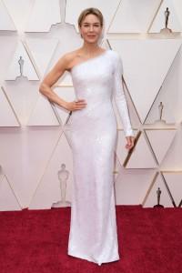 renee-zellweger-armani-oscars-white-2020, red carpet styles, red carpet dresses, white gowns, white dresses