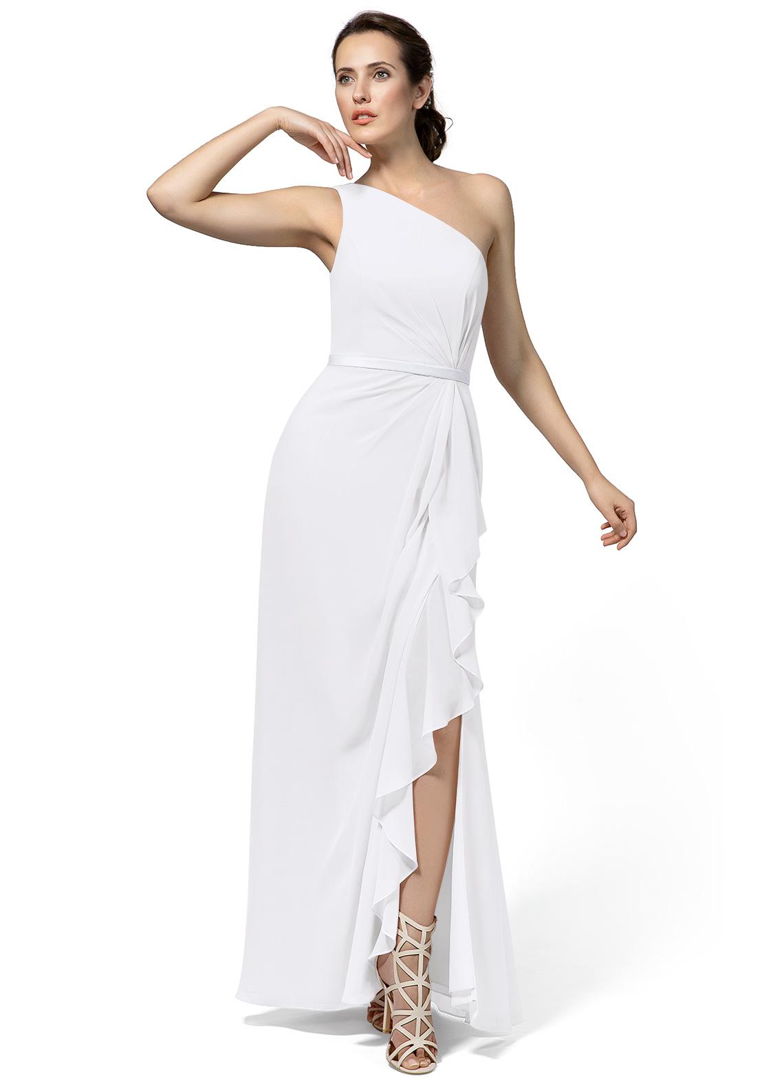 Azazie Liza in White