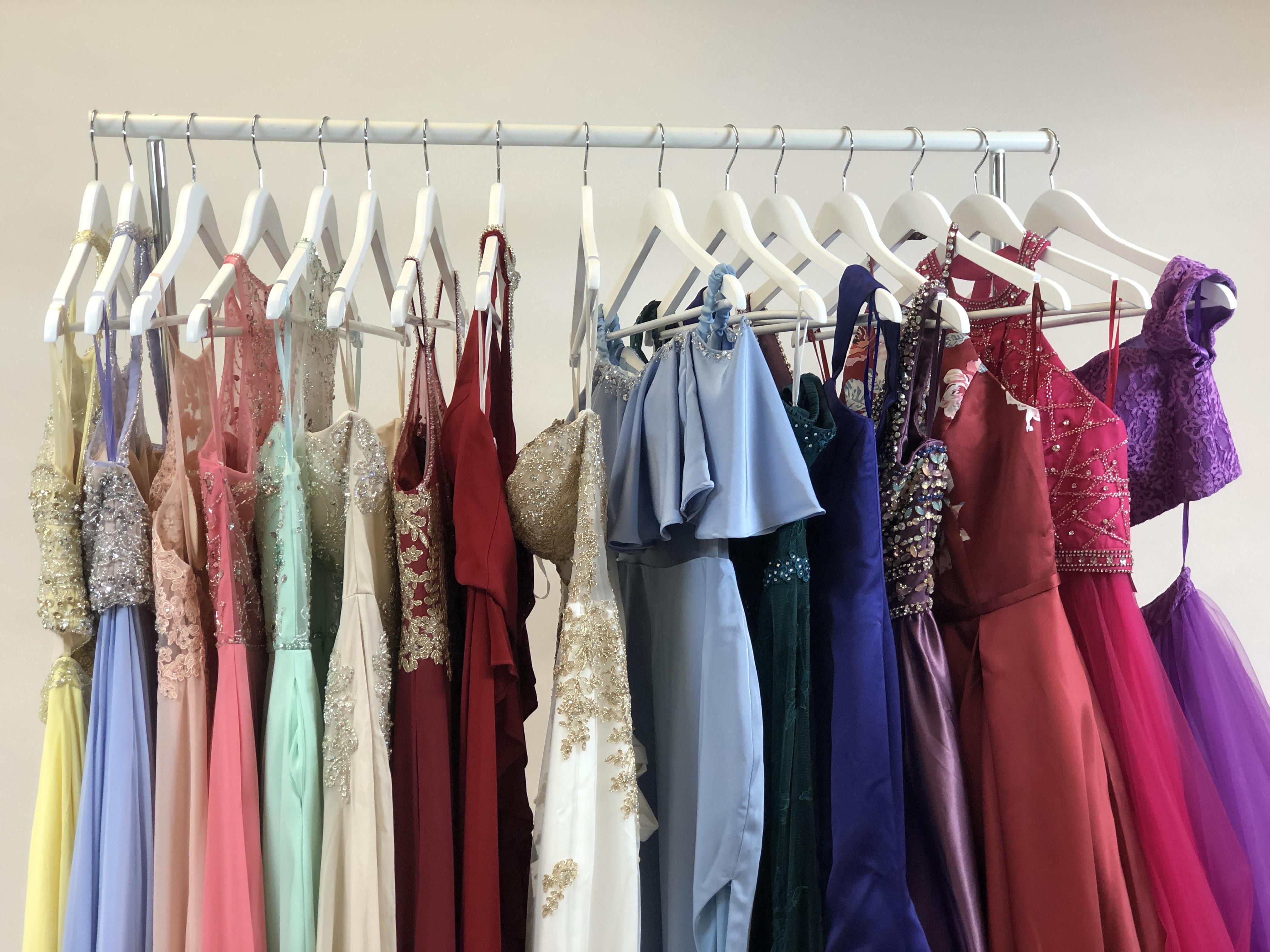 full rack prom dresses