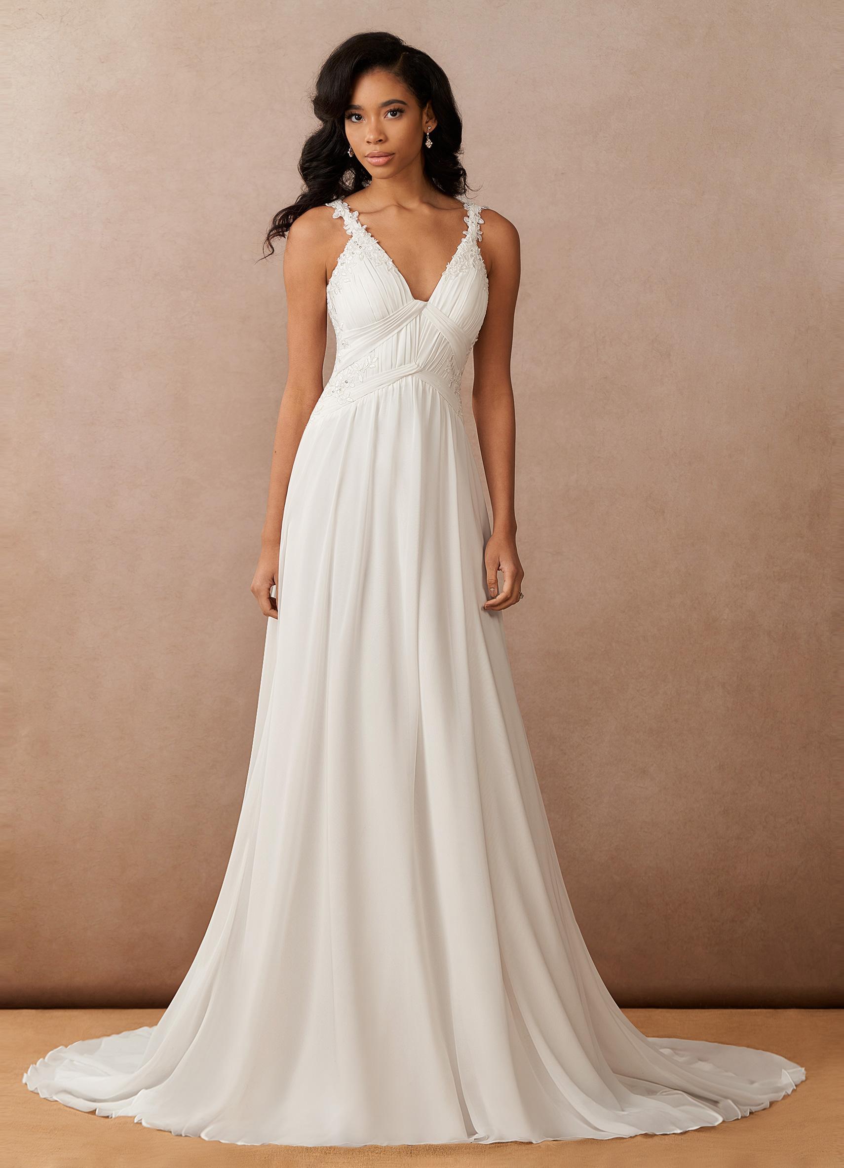 Azazie Ramona, Azazie Essence, bridal gown, modern wedding dress, sleeveless wedding dress, simple wedding dress