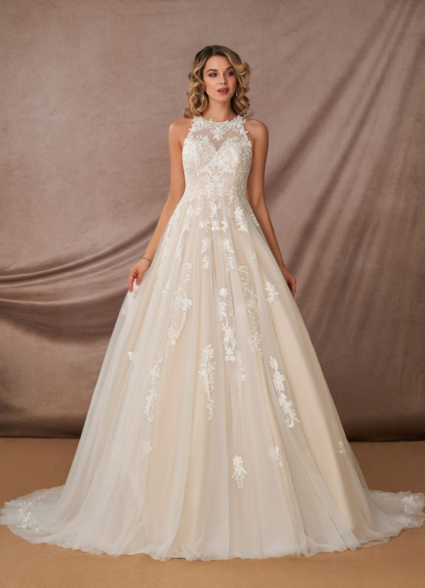 Azazie Melrose, Azazie Romance, bridal gown, wedding dress