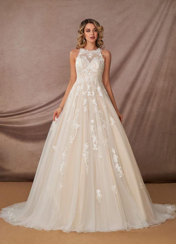 Azazie Melrose, Azazie Romance, bridal gown, wedding dress