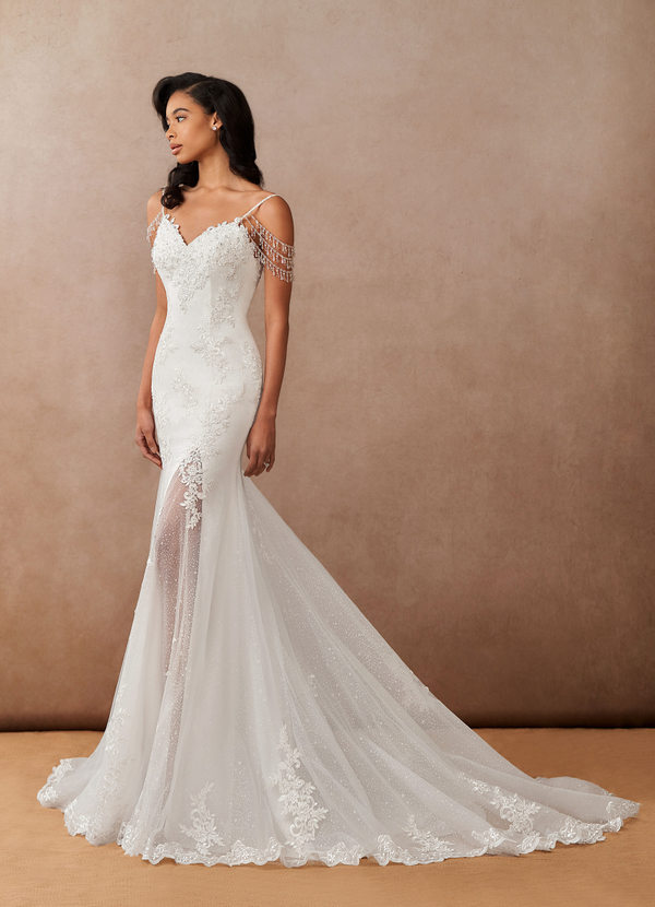 Azazie Saskia, Azazie Romance, bridal gown, wedding dress