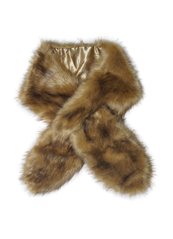 AZAZIE SINCERITY FAUX FUR WRAP