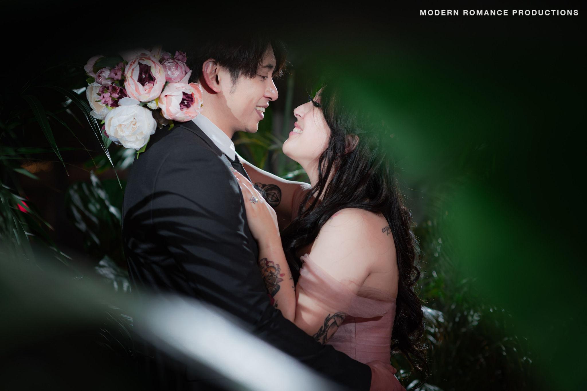 Valeria dusty rose elopement real azazie wedding covid bride