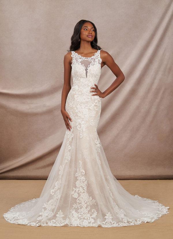 Azazie Divine Bridal Gown Wedding Dress