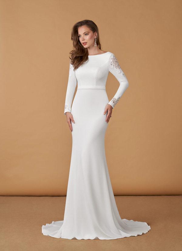 Azazie Tifa Wedding Dress Bridal Gown
